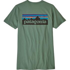 Patagonia M's P-6 Logo Organic T-Shirt Pesto
